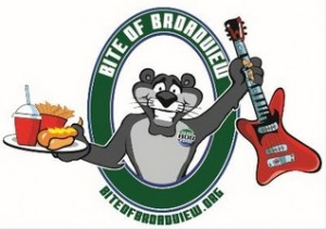 bite of broadview logo
