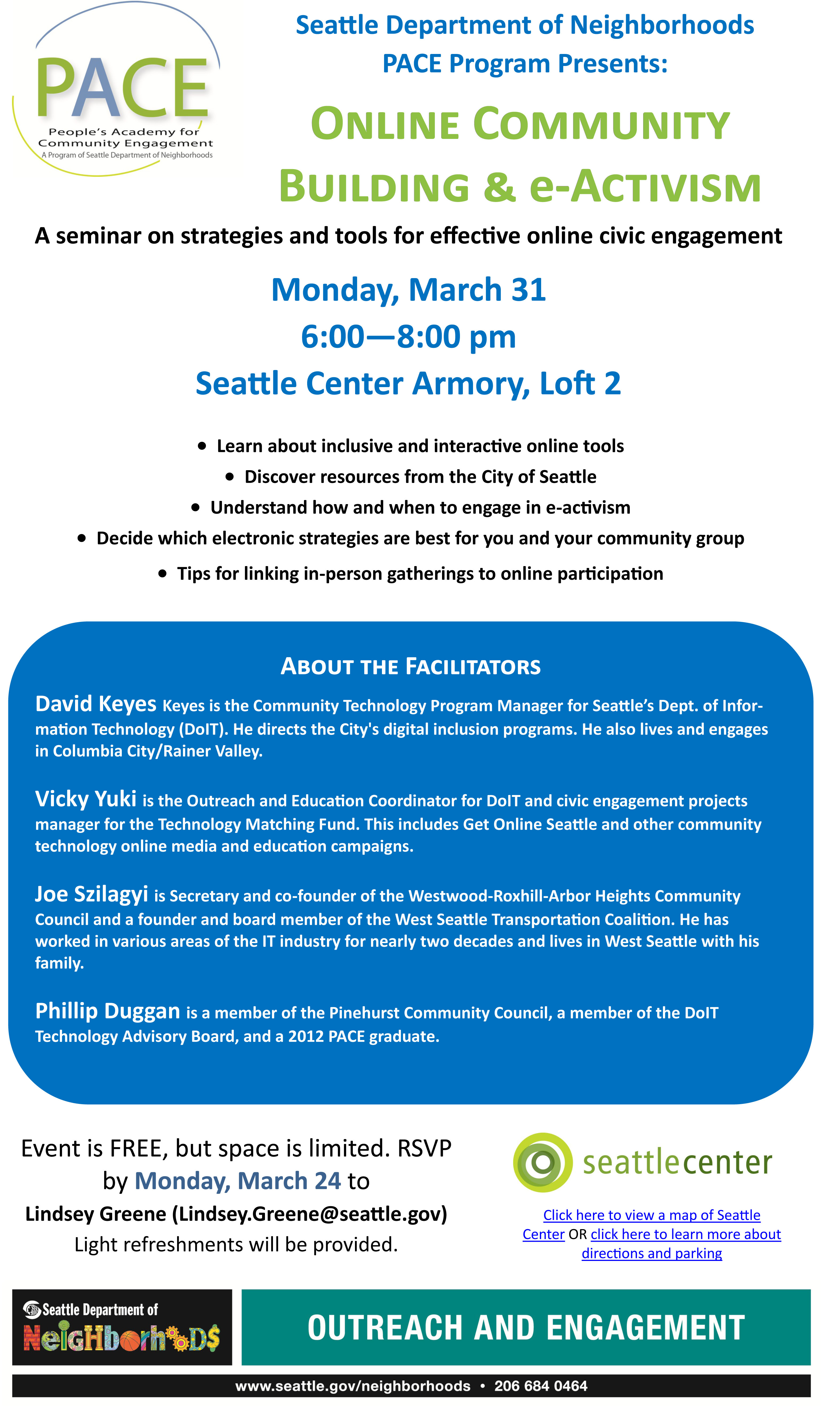 Free Seminar about Online Community Building